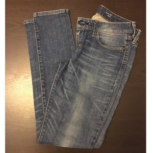 Levi's 29 bold curve modern rise skinny jeans